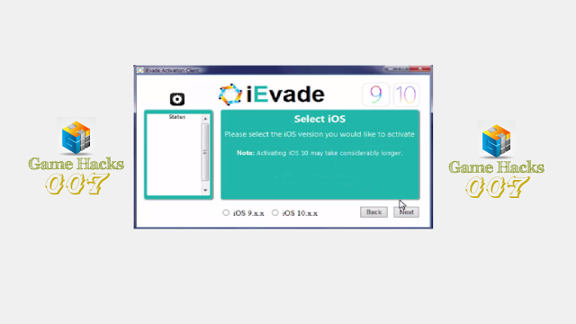 ievade activation iphone