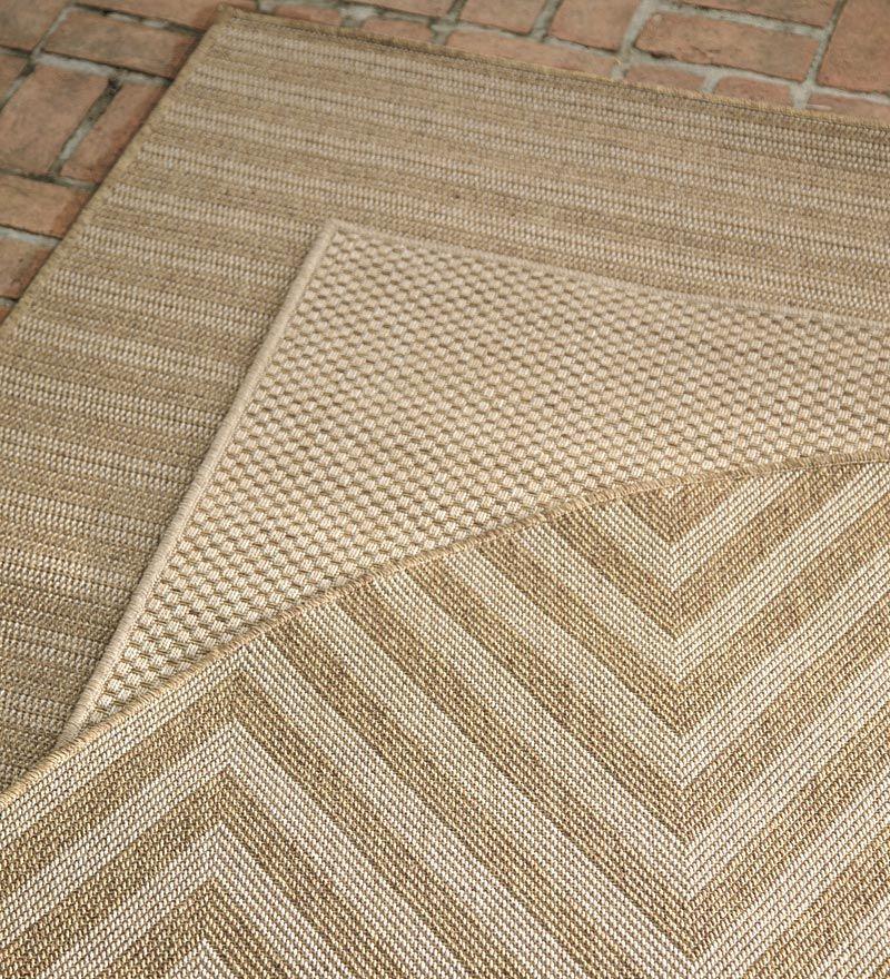 7 10 X 10 10 Laurel Indoor And Outdoor Seagrass Look Rug In