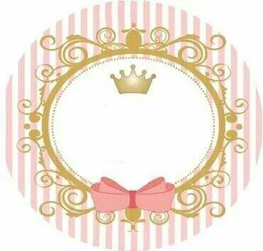 Pin De Andressa Pires En Convites E Etiquetas Tarjeta Corona