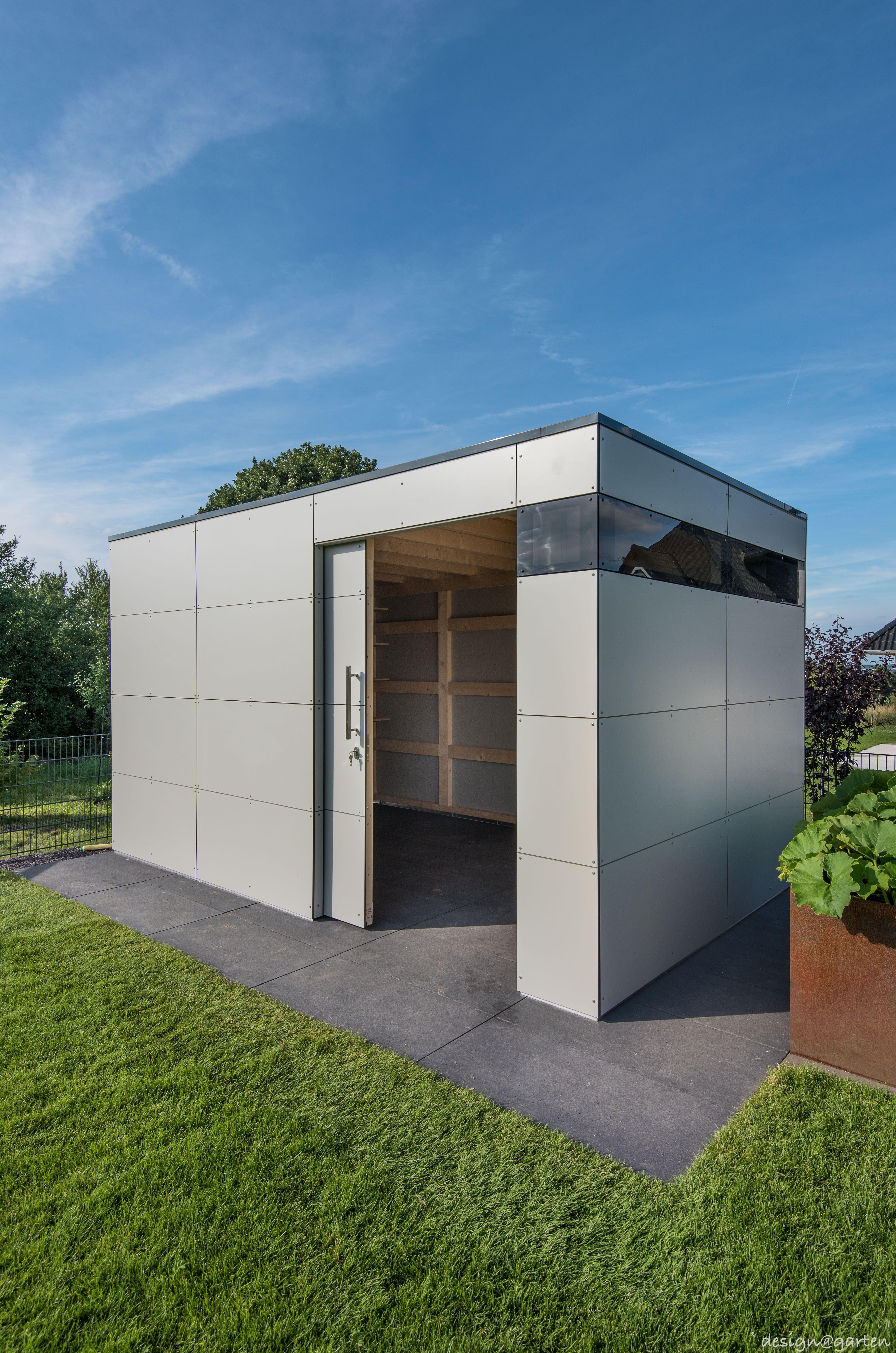 Design Gartenhaus _gart in Bonn by designgarten