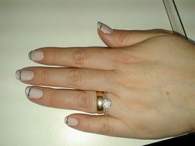 Uñas manicure simple y elegante   Manicure   Pinterest