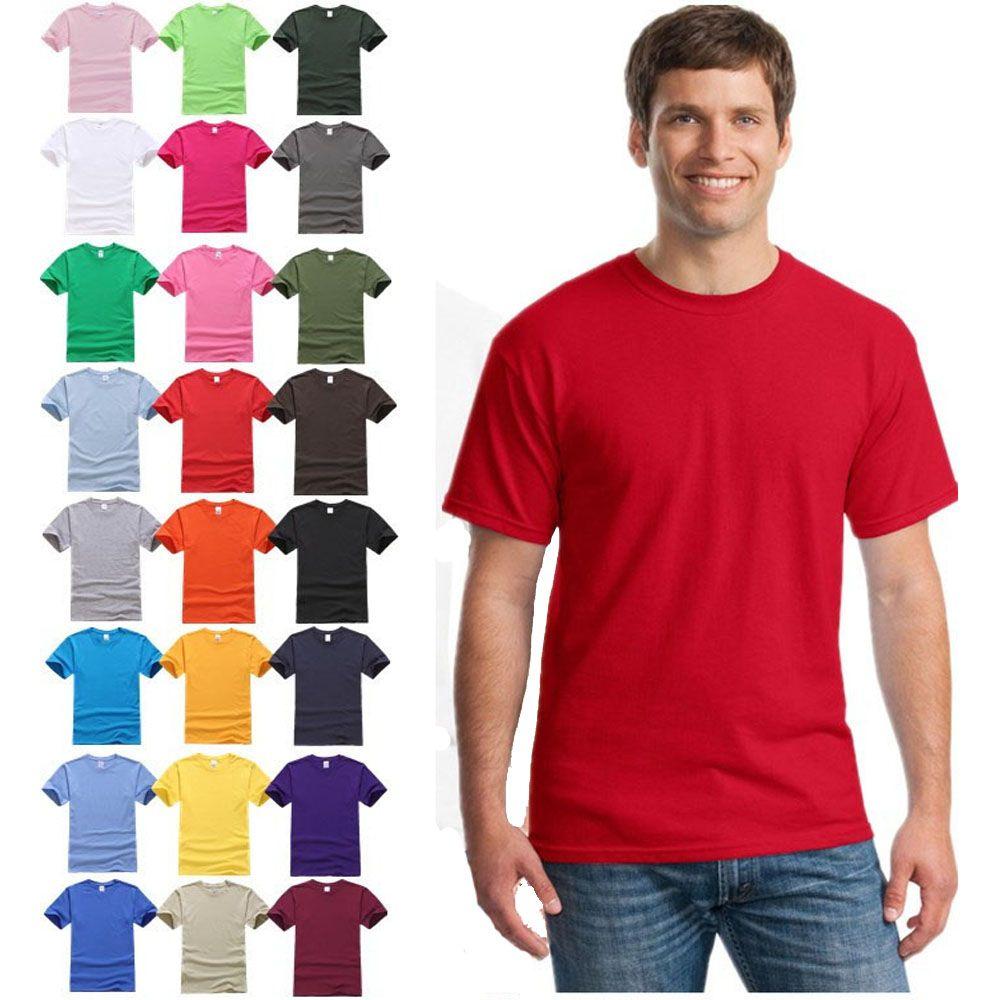Design your own eco-friendly t-shirt - Xxxl Organic Premium Cotton O Neck Plain Top 76000 Men S Plain Brand Tshirts Pure