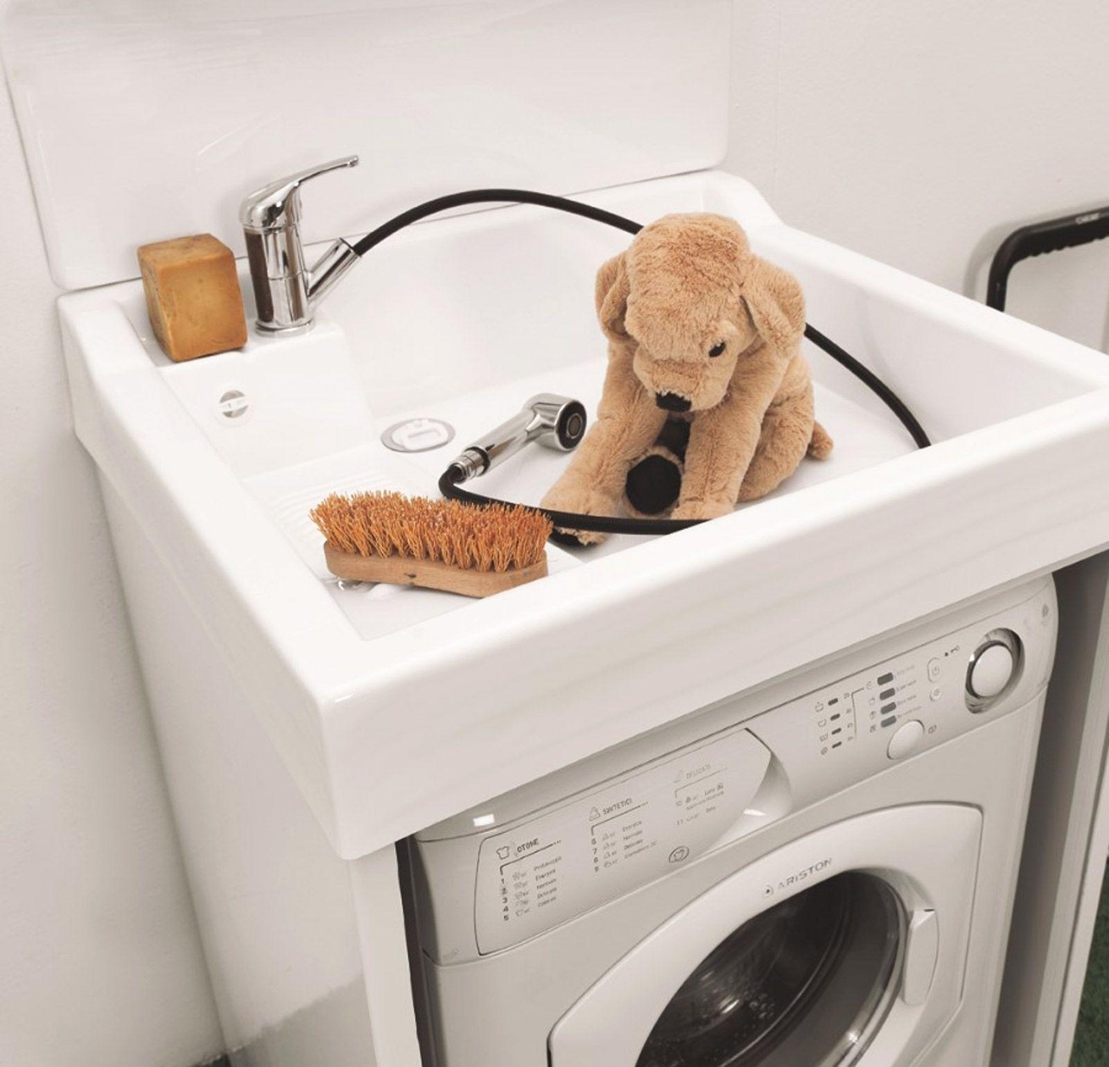 Mobile Proteggi Lavatrice Da Esterno colavene lavacril on lavatoio copri lavatrice con lavabo abs