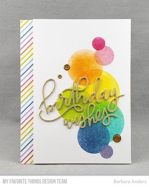 Birthday Wishes–MFT April Birthday Project Challenge