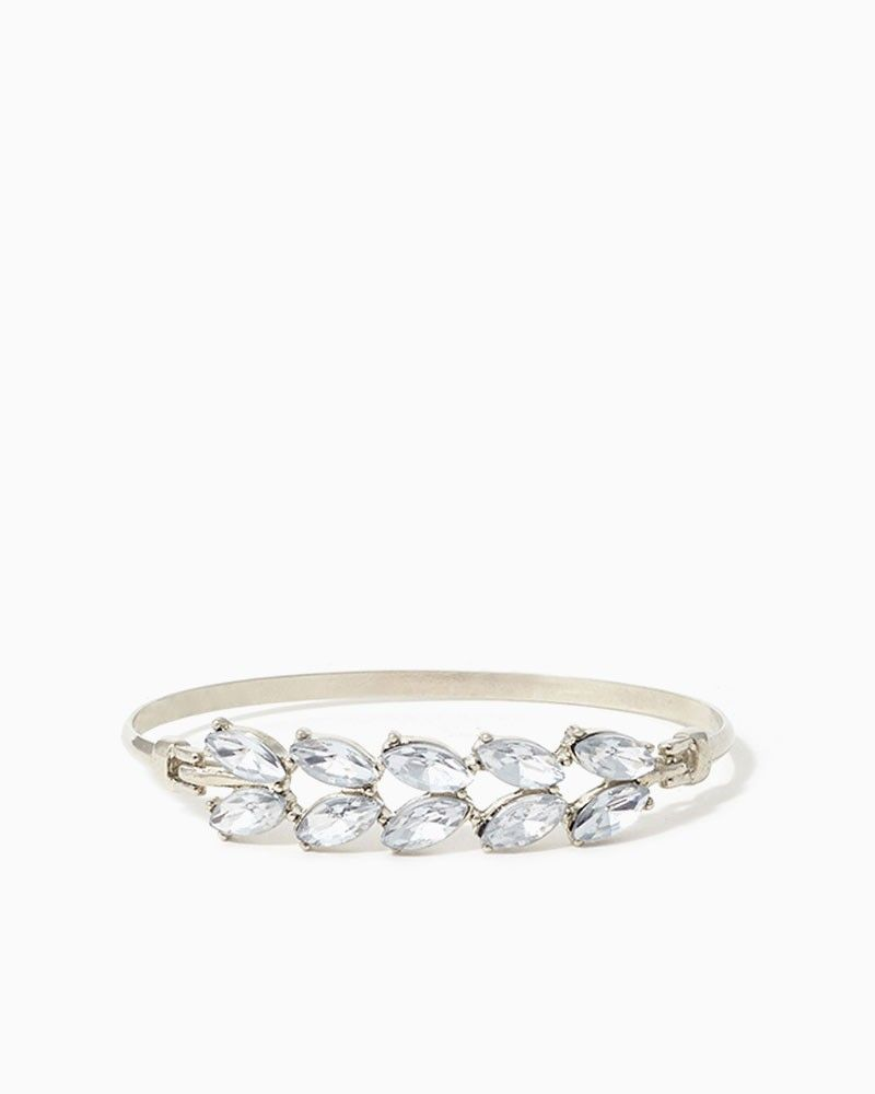 charming charlie Laurel Wreath Bracelet UPC 410006668447