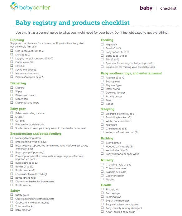 68a77474e0858a3678ea6082e22ff97bjpg 584×694 pixels Oh baby - baby registry checklists