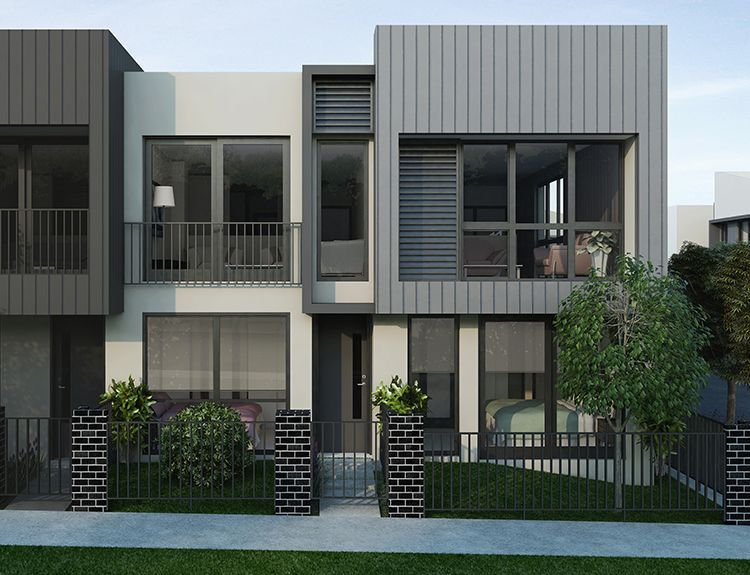 Modern Home Facades Townliving House Fence Design Architecture House Townhouse Designs
