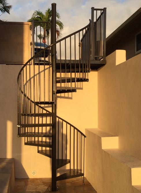 Best Standard Spiral Staircase Kits Standard Spiral Stair 400 x 300
