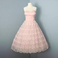 Image result for vintage 50s prom dress