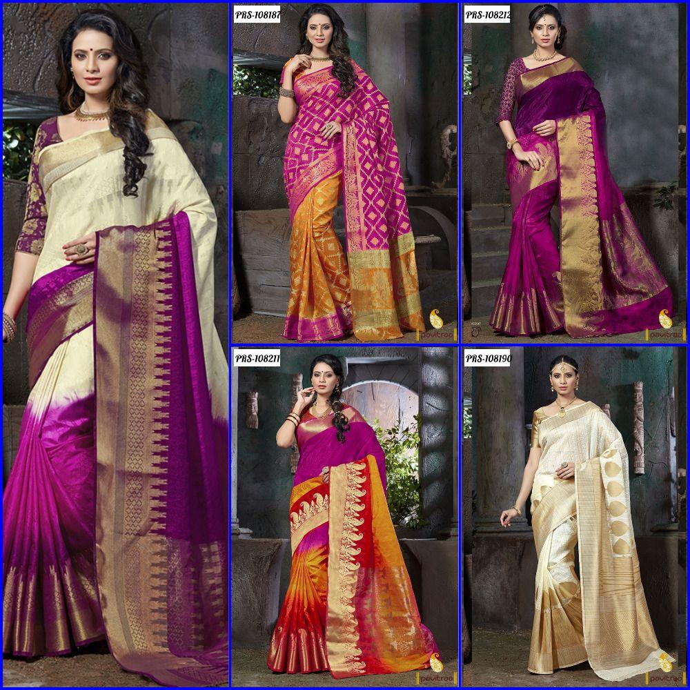 Best Designer South Indian Wedding Silk Sarees Online Shopping. Buy ...