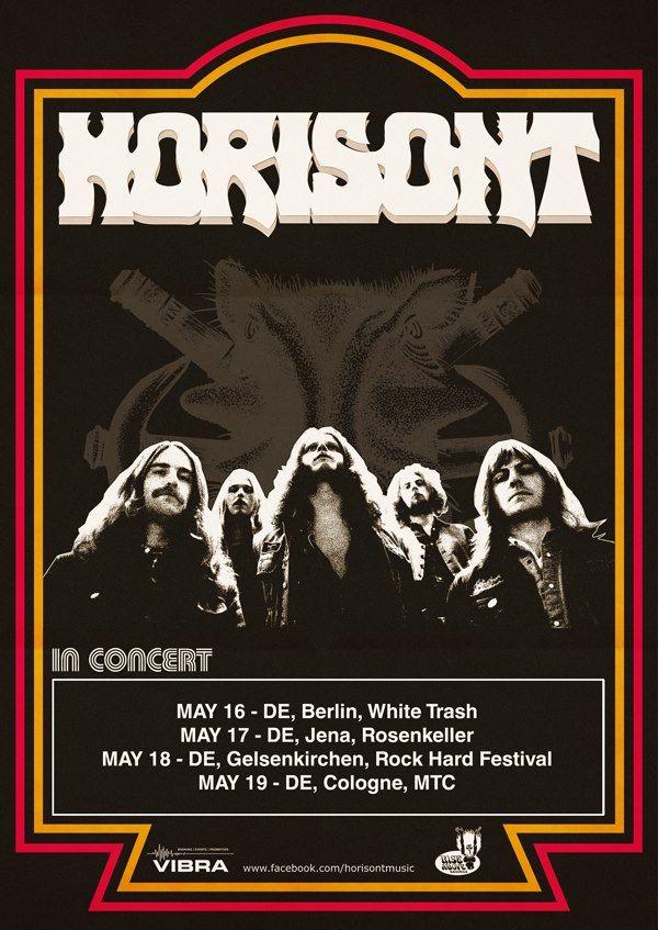 Horisont Germany Tour 2013