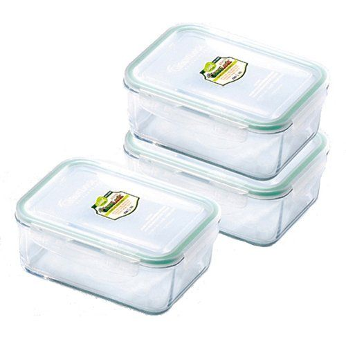One Day Food Storage Container Set Food Storage Set Glass Food