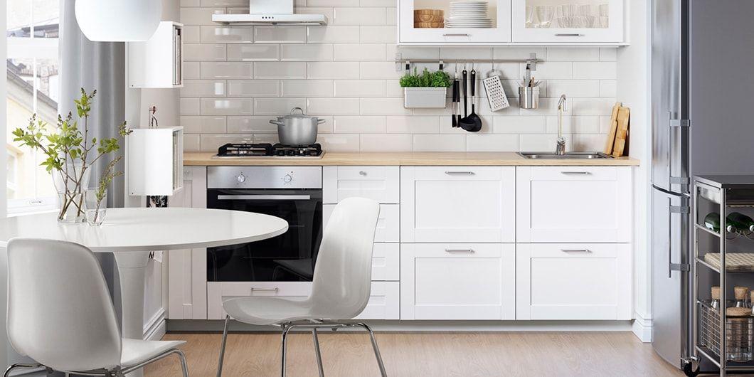 Modna I Funkcjonalna Kuchnia Ikea Kitchen Inspiration Ikea Small Kitchen Kitchen Inspirations