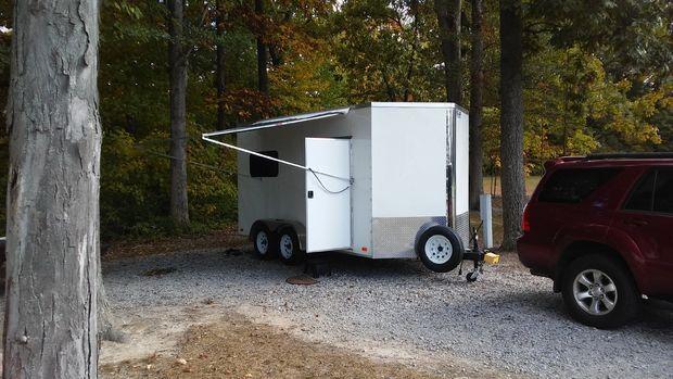Mini Toyhauler Camper