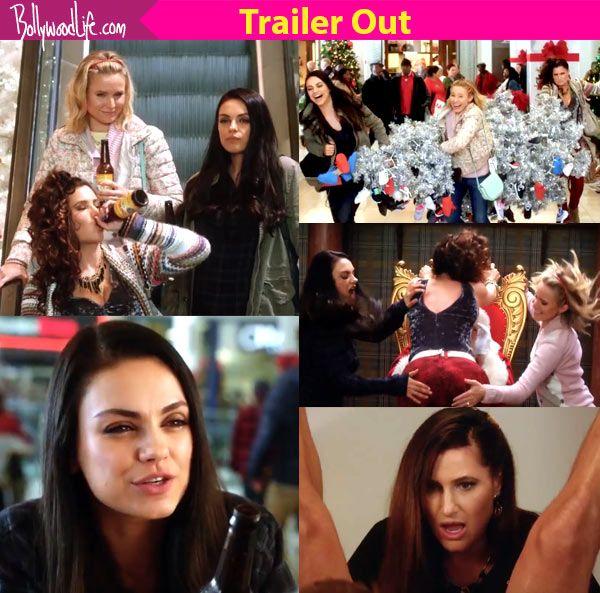 Bad Mom Christmas.A Bad Mom S Christmas Trailer Mila Kunis Kristen Bell And
