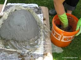 bildergebnis f r betontopf selber machen ideen aus zement beton pinterest zement selber. Black Bedroom Furniture Sets. Home Design Ideas