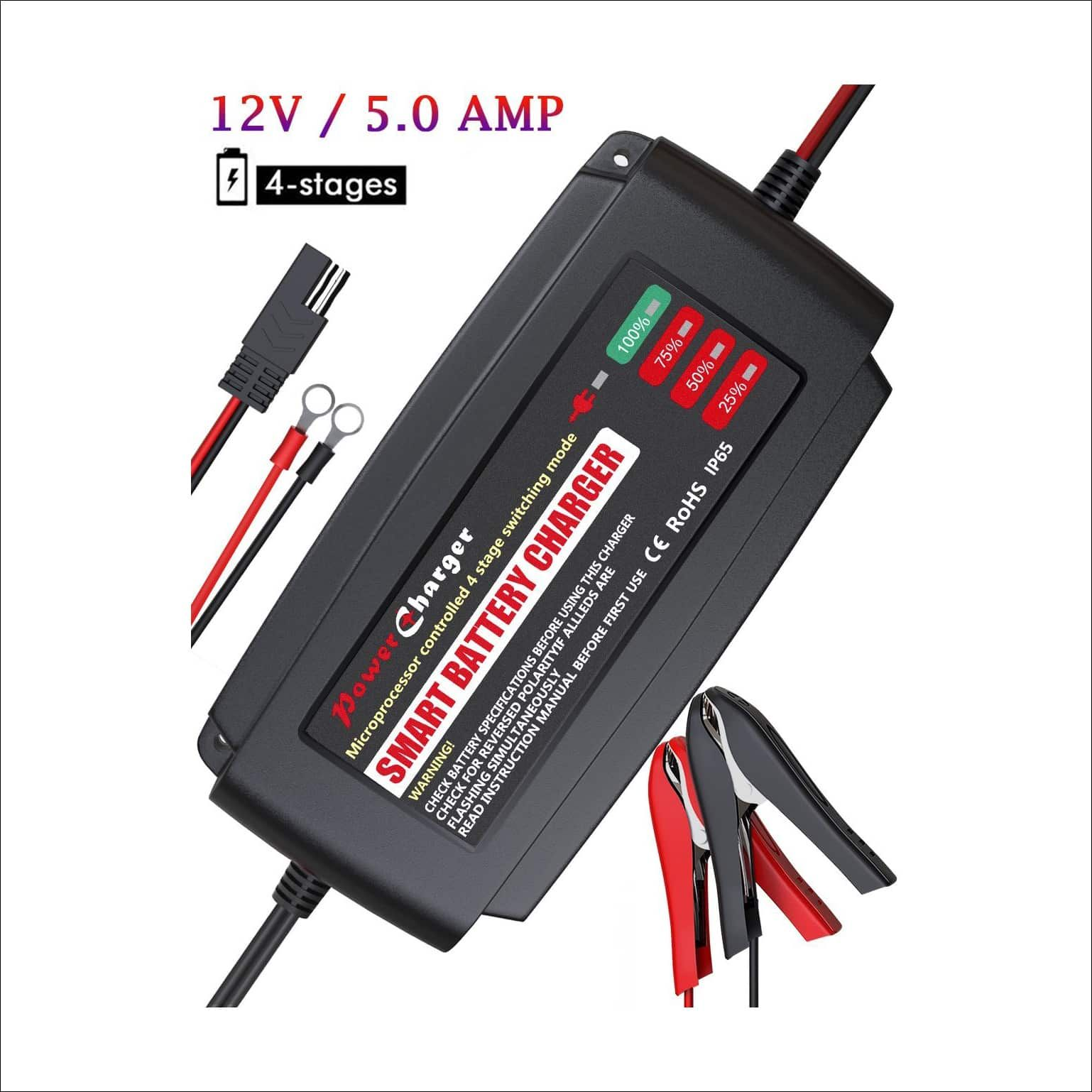 BMK 12V 5Amp Fully Automatic Battery Charger | Top 10 Best