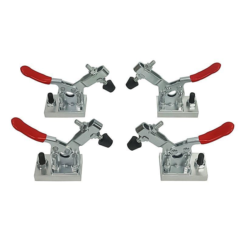 2Pcs CNC Work Table Metal Clamp Engraver Fastening Platen Router Fixture BEST-#