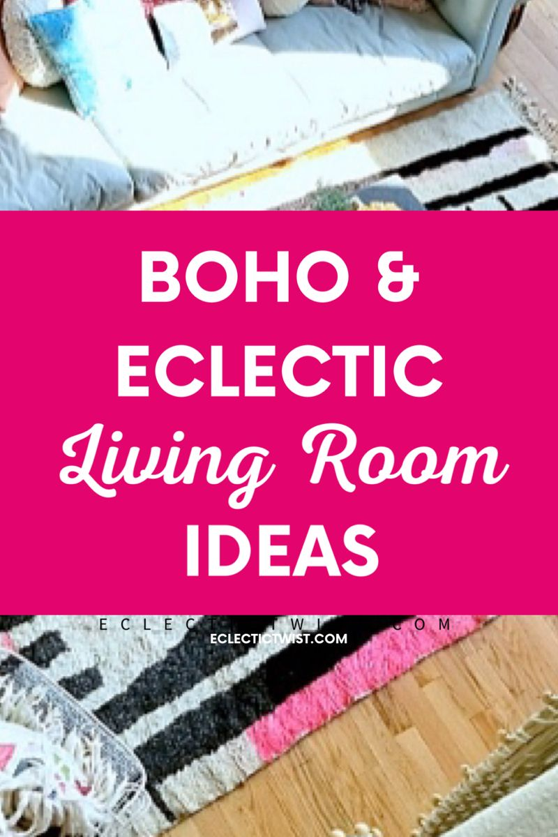 The best boho and eclectic living room ideas. #boho #eclecticdecor #boholivingroom #livingroomideas