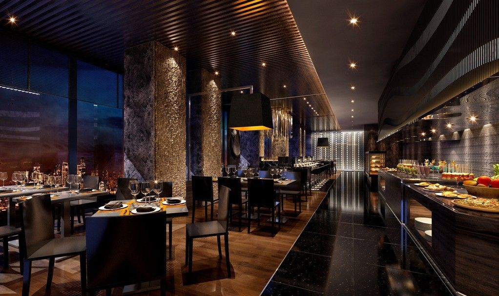 Restaurant designs restaurant design buffet for Restaurant interior designs ideas