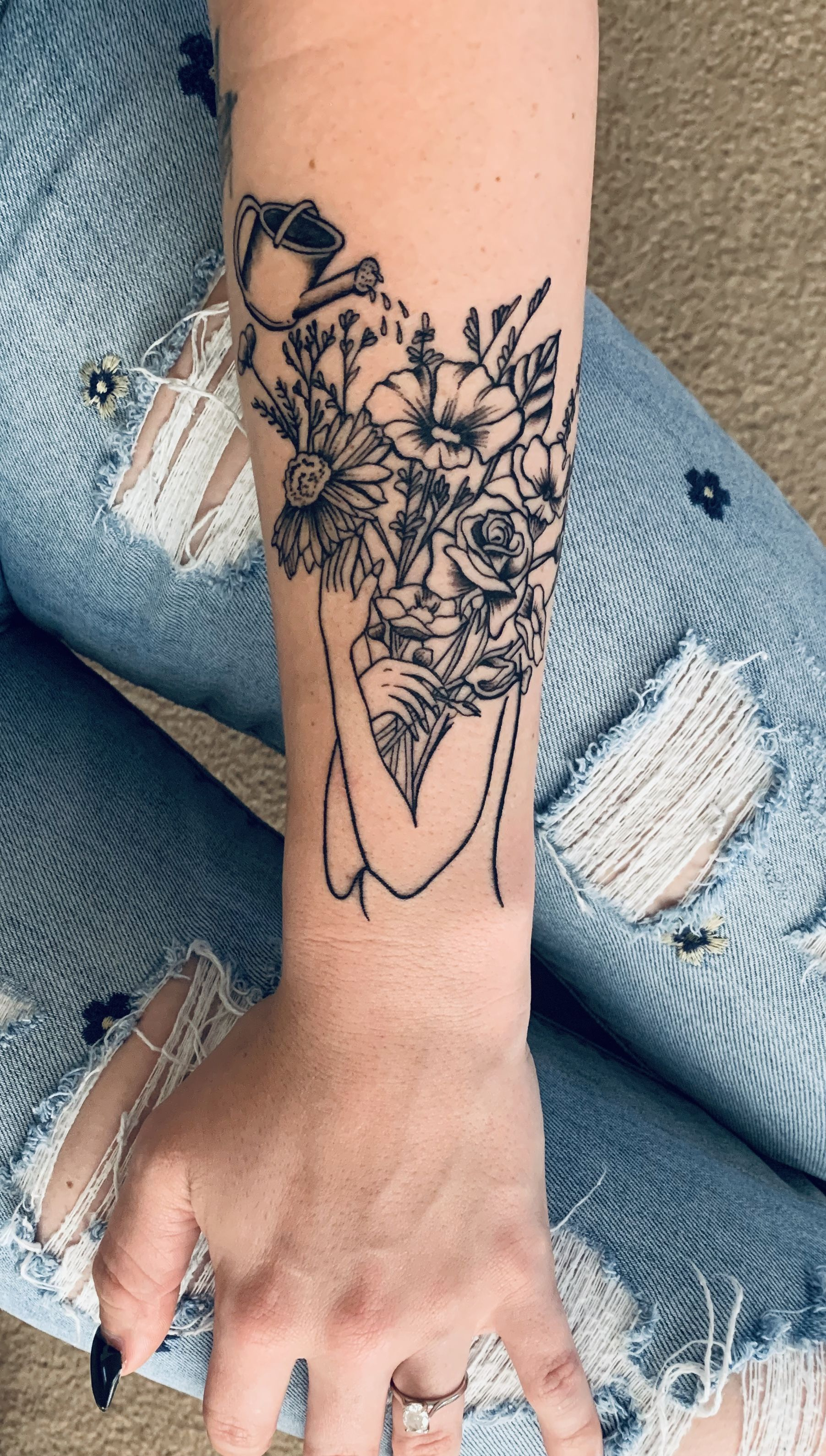 Self love tattoo