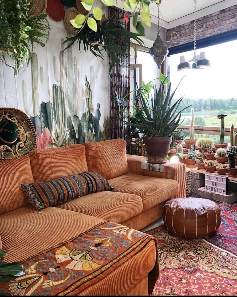 Why Terracotta Is The Must Have Color For Your Interiors Terracotta Designtrends Home Decor Retro Home Decor Decor Living room boho decor