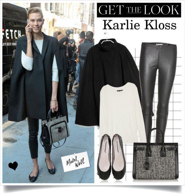 """Street Style: Karlie Kloss"" by elske88 ❤ liked on Polyvore"