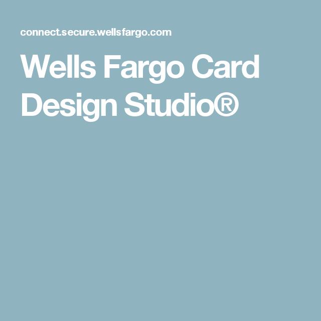 Wells Fargo Card Design Studio® | art | Pinterest