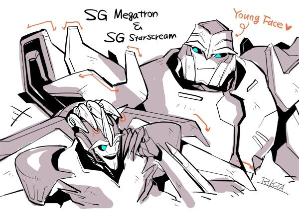 Megatron and Starscream shattered glass | Transformers Prime