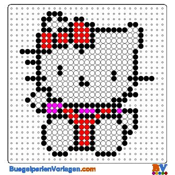 Hello Kitty 2 buegelperlen vorlagen web 148ee | hello kitty ...