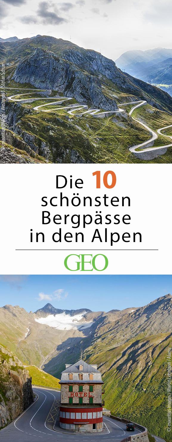 Photo of Die schönsten Bergpässe in den Alpen