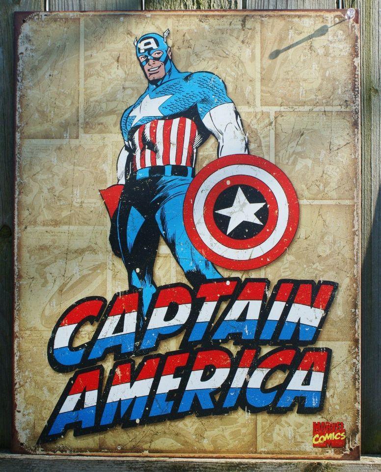 Quadro Super Herois, Capitão