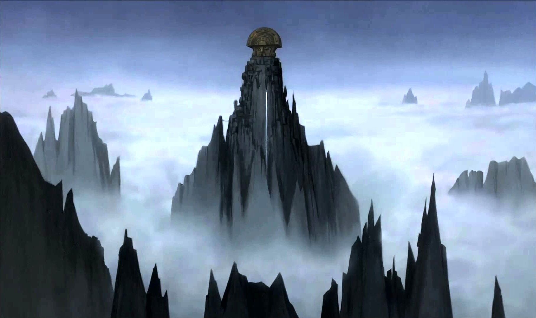 Emperors New Groove Concept Art Cliff