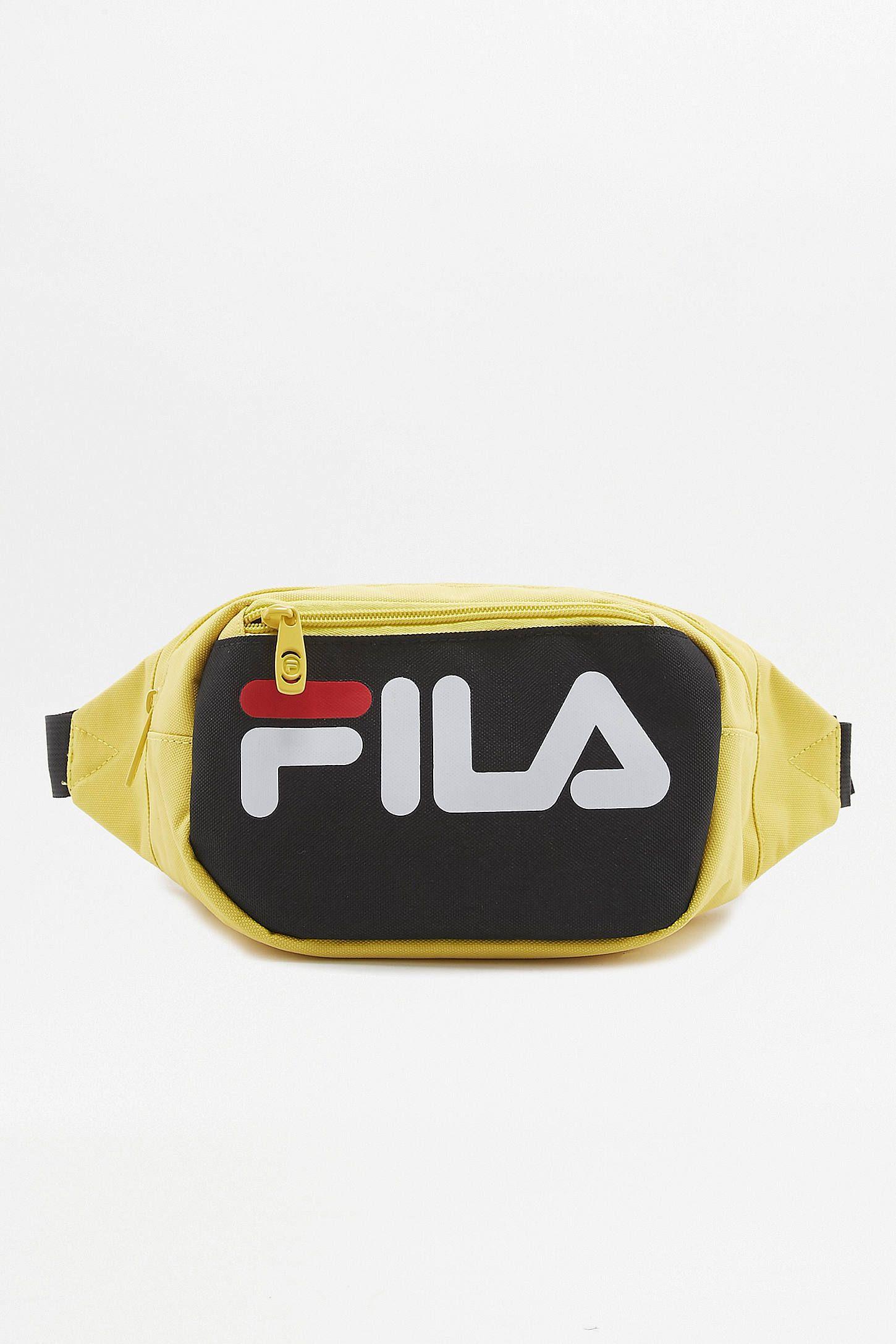 fila fanny pack yellow