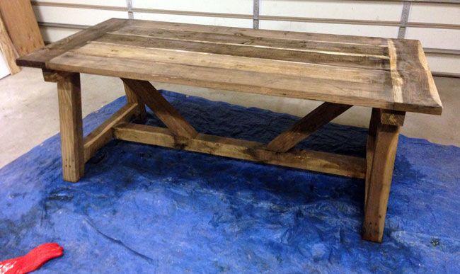 steel wool and vinegar finish rustic finish house. Black Bedroom Furniture Sets. Home Design Ideas