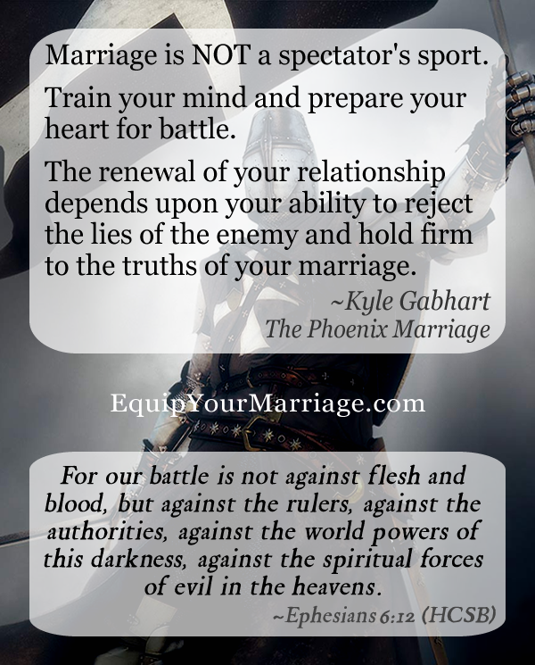 Spiritual warfare is real and has a massive impact on your marriage