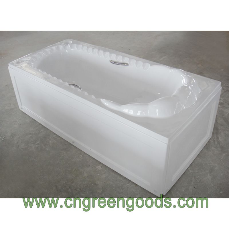 Factory Direct Sales Body Soaking Alcove Bathtub In Floor