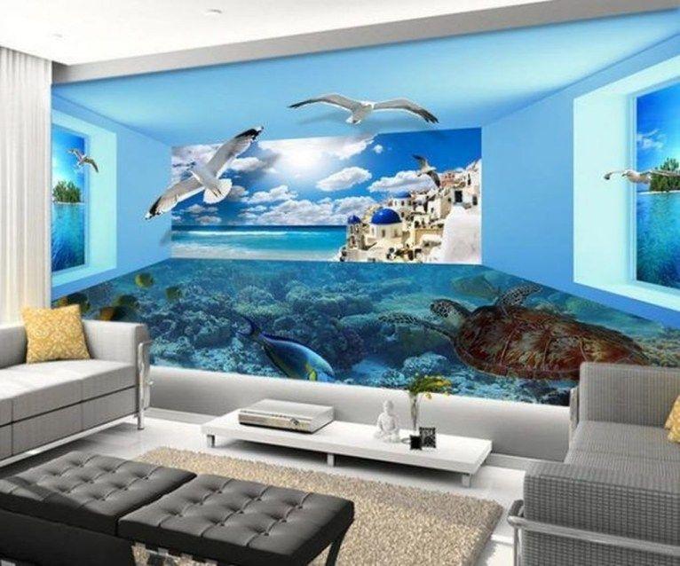 Captivating 3D Wallpaper Ideas To Adorn Your Living Room ...