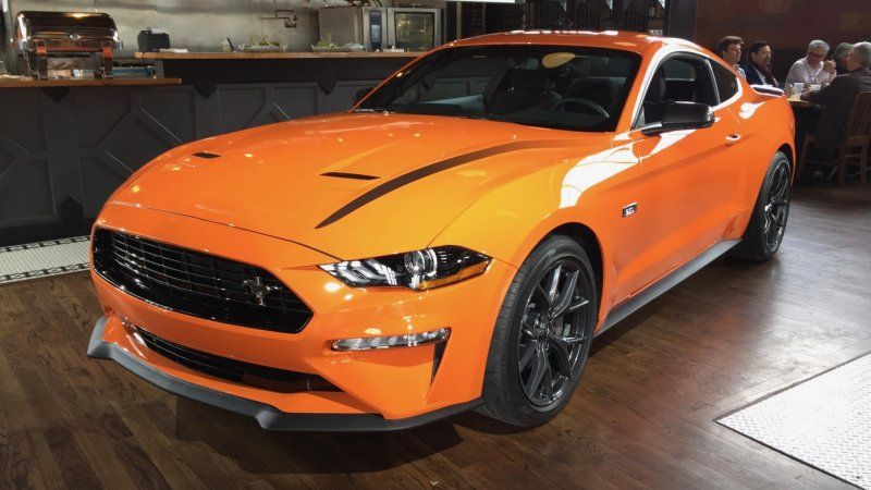 2020 Ford Mustang Ecoboost High Performance Package Is Your Rear