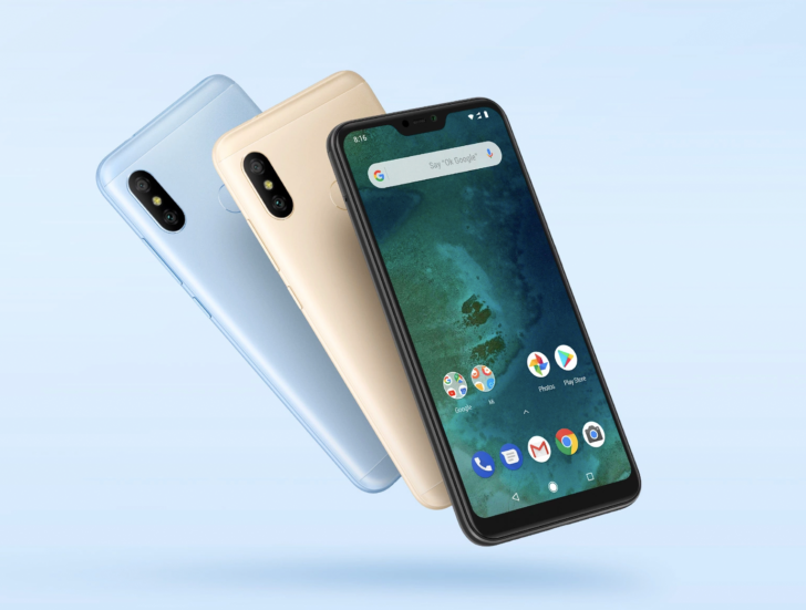 Xiaomi Mi A2 Lite Gets Android 9 Pie Update Xiaomi Android One Android