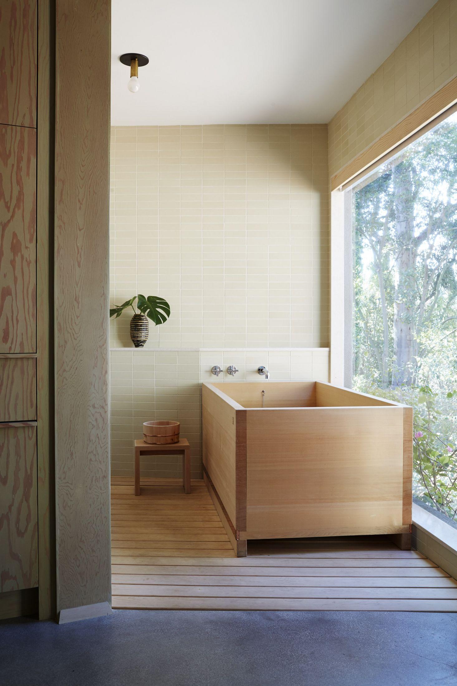 10 Favorites Japanese Style Bathtubs Around The World Wooden