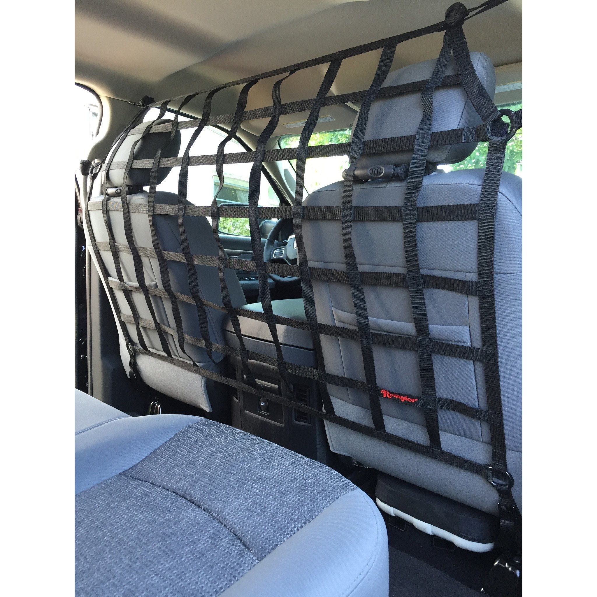1999 2016 Ford F250 F350 Extended Cab Behind Front Seat Barrier Divider Net Con Imagenes Autos Y Motos Autos Jeep