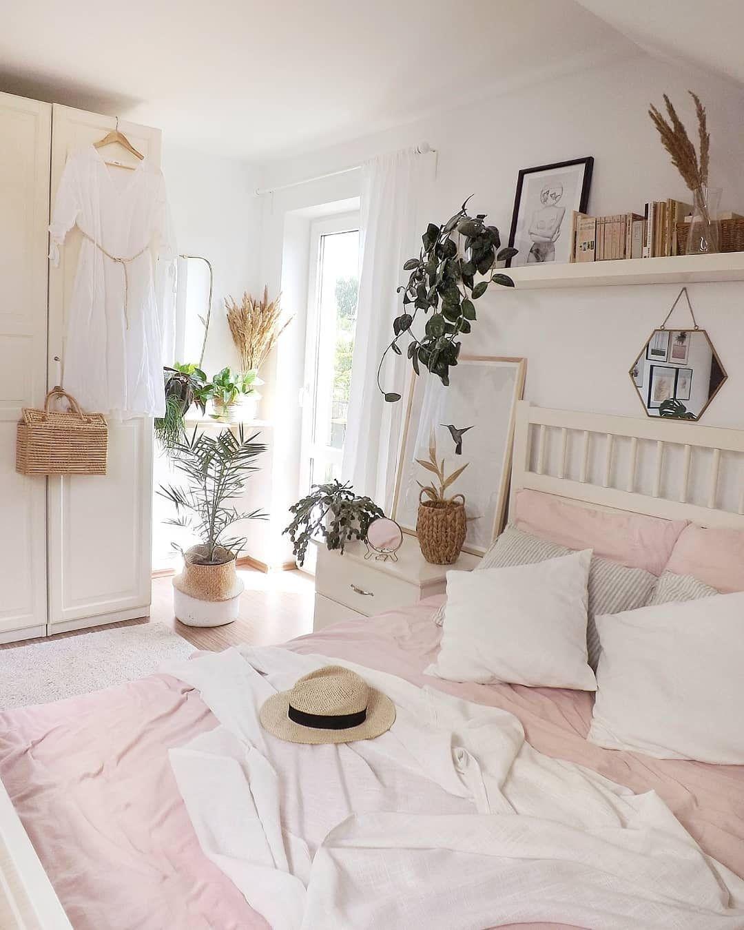 Room Decored Aesthetic White Roomdecor Dorm Roomspiration Room Inspiration Bedroom Bedroom Decor Simple Bedroom Bedroom design size 4x6