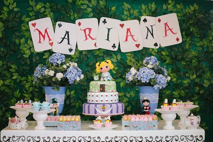 Festa Infantil Alice No Pais Das Maravilhas Alice In Wonderland