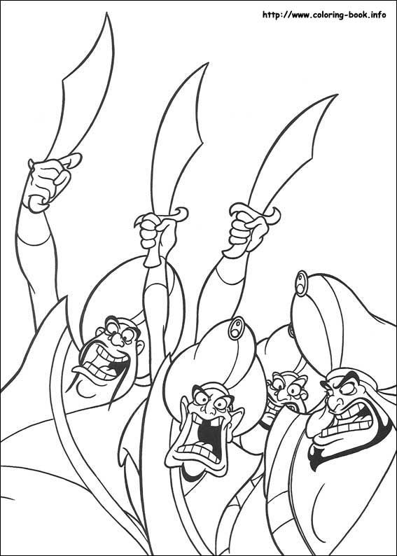 aladdin coloring pages - Google-søgning | Coloring Pages (Aladdin ...