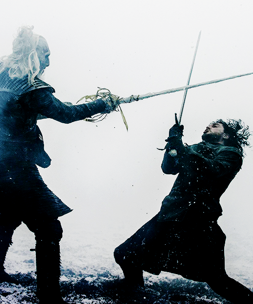 White Walker Vs Jon Snow