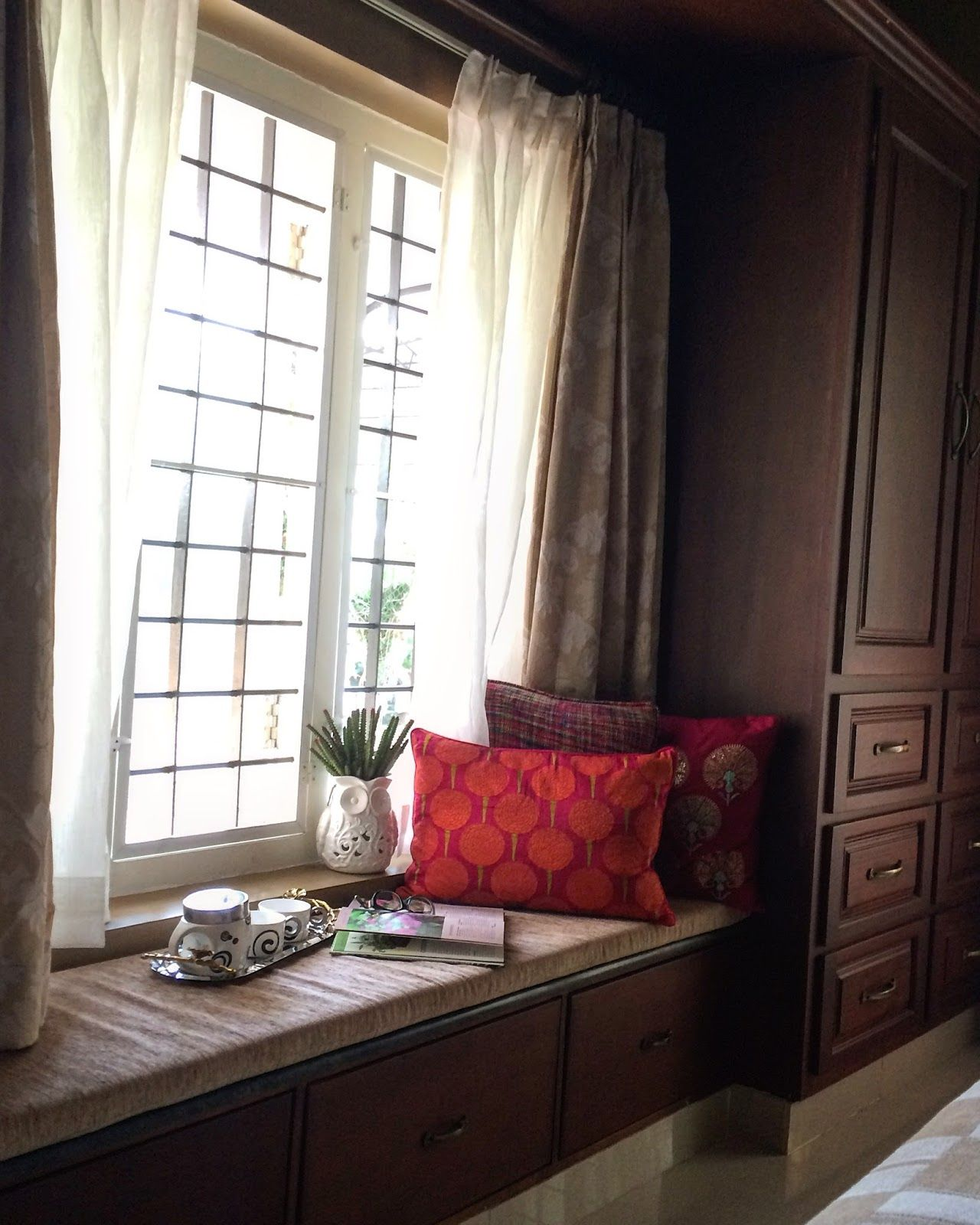 12 Spaces Inspired By India: Convert The Dead Space By Your Window Into A Welcoming