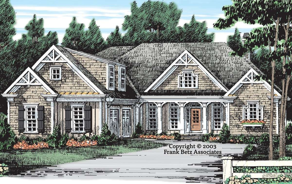 House Plan 8594 00361 Lake Front Plan 2 395 Square Feet 3 4 Bedrooms 2 5 Bathrooms Craftsman House Plans Southern House Plans Lake House Plans
