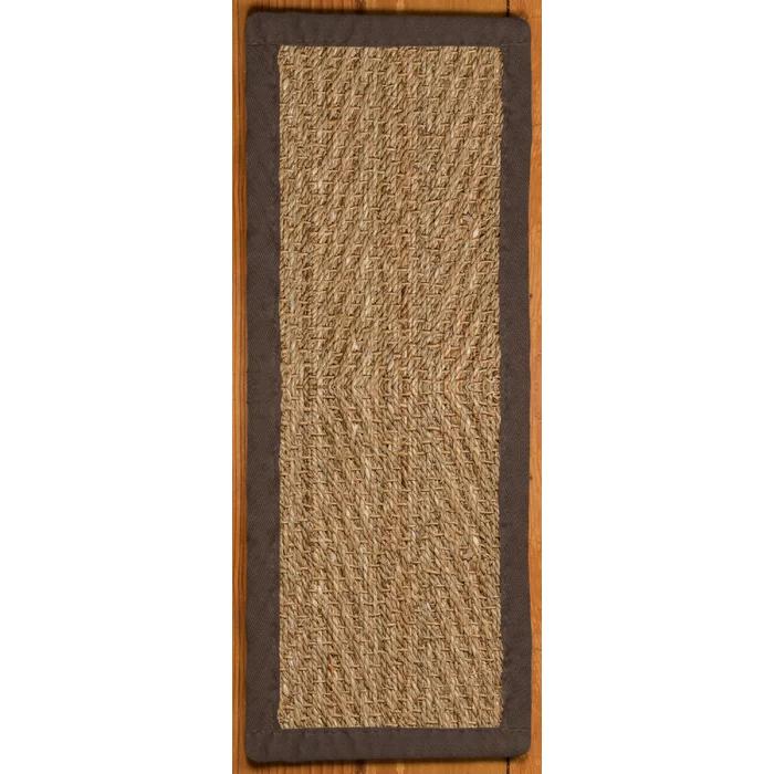 Best Lakendra Beach Seagrass Beige Stair Treads Carpet Stairs 400 x 300