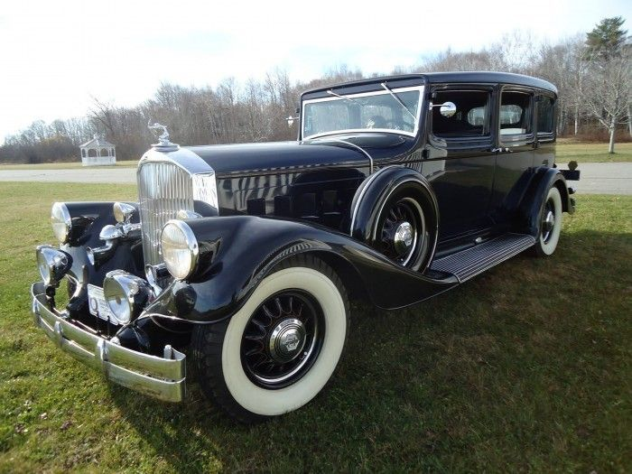 1933 Pierce-Arrow, once featured in Hemmings Classic Car, 1933 Pierce-Arrow, once featured in Hemmings Classic Car, heads to auction